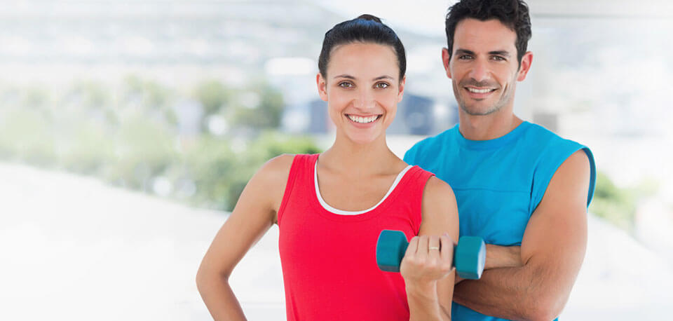 image of fit couple living with diabetes